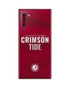 Alabama Crimson Pride Galaxy Note 10 Skin
