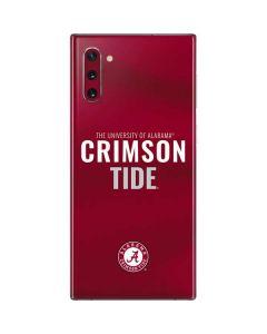Alabama Crimson Pride Galaxy Note 10 Skin