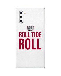 Alabama Crimson Roll Tide Galaxy Note 10 Skin
