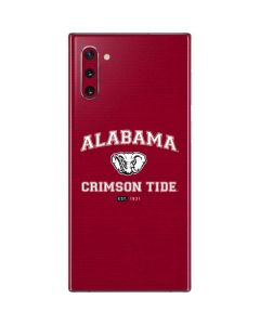Alabama Crimson Tide Basketball Galaxy Note 10 Skin