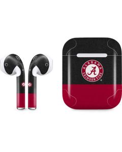 Alabama Crimson Tide Logo Apple AirPods Skin