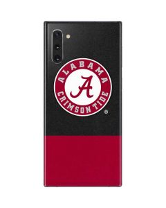 Alabama Crimson Tide Logo Galaxy Note 10 Skin