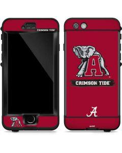 Alabama Crimson Tide Red Logo LifeProof Nuud iPhone Skin