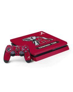 Alabama Crimson Tide Red Logo PS4 Slim Bundle Skin