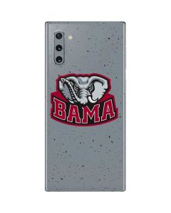 Alabama Mascot Grey Galaxy Note 10 Skin