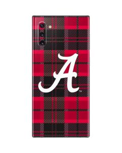 Alabama Plaid Galaxy Note 10 Skin