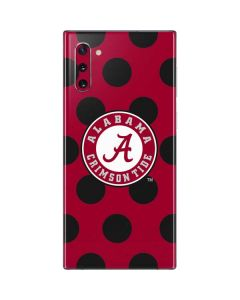 Alabama Polka Dot Galaxy Note 10 Skin