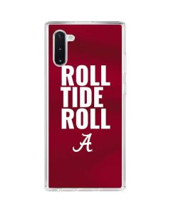 Alabama Roll Tide Roll Galaxy Note 10 Clear Case