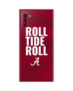 Alabama Roll Tide Roll Galaxy Note 10 Skin
