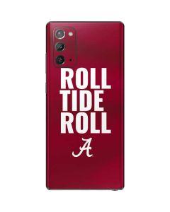 Alabama Roll Tide Roll Galaxy Note20 5G Skin