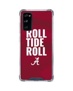 Alabama Roll Tide Roll Galaxy S20 FE Clear Case