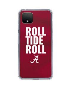 Alabama Roll Tide Roll Google Pixel 4 Clear Case