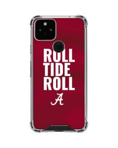 Alabama Roll Tide Roll Google Pixel 5 Clear Case