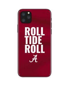 Alabama Roll Tide Roll iPhone 11 Pro Max Skin