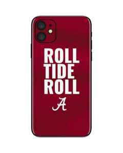Alabama Roll Tide Roll iPhone 11 Skin