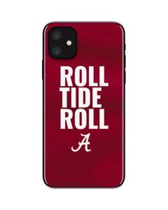 Alabama Roll Tide Roll iPhone 11 Skin