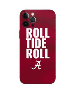 Alabama Roll Tide Roll iPhone 12 Pro Skin