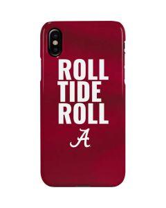 Alabama Roll Tide Roll iPhone XS Max Lite Case