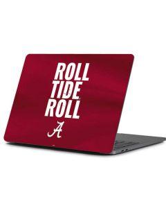 Alabama Roll Tide Roll Apple MacBook Pro 13-inch Skin