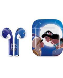 Aladdin and Princess Jasmine Apple AirPods 2 Skin