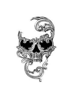 Alchemy - Venetian Mask Of Death Generic Laptop Skin