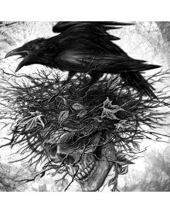 Crow and Skull Moto X4 Skin