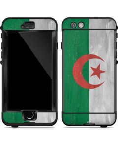 Algeria Flag Distressed LifeProof Nuud iPhone Skin