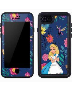 Alice in Wonderland Floral Print iPhone 7 Waterproof Case