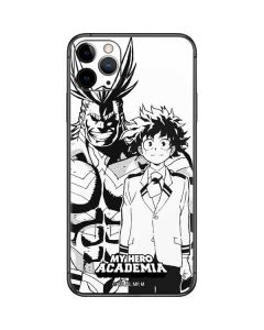 All Might and Deku Black And White iPhone 11 Pro Max Skin