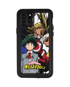 All Might and Deku iPhone 11 Pro Waterproof Case