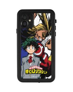 All Might and Deku iPhone 11 Waterproof Case