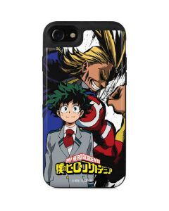 All Might and Deku iPhone SE Wallet Case