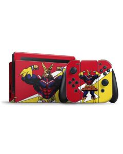 All Might Nintendo Switch Bundle Skin