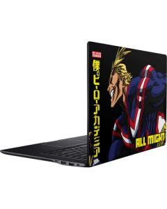 All Might Ready for Battle Ativ Book 9 (15.6in 2014) Skin