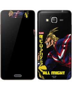 All Might Ready for Battle Galaxy Grand Prime Skin