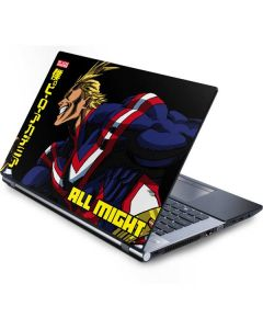 All Might Ready for Battle Generic Laptop Skin