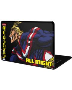 All Might Ready for Battle Google Pixelbook Go Skin