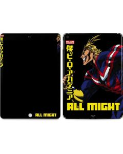 All Might Ready for Battle Apple iPad Skin