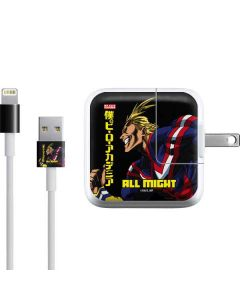 All Might Ready for Battle iPad Charger (10W USB) Skin
