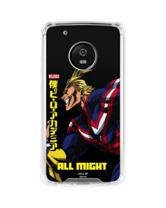 All Might Ready for Battle Moto G5 Plus Clear Case