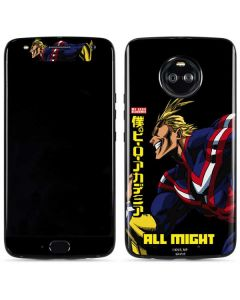 All Might Ready for Battle Moto X4 Skin