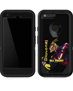 All Might Ready for Battle Otterbox Defender Pixel Skin