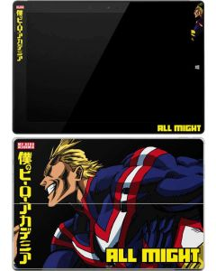 All Might Ready for Battle Surface 3 Skin