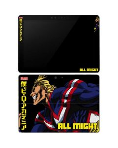 All Might Ready for Battle Surface Go Skin