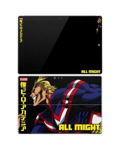 All Might Ready for Battle Surface Pro 3 Skin