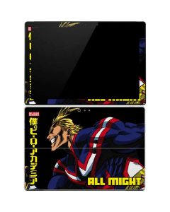 All Might Ready for Battle Surface Pro 4 Skin