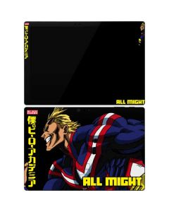 All Might Ready for Battle Surface Pro 7 Skin
