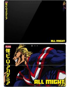 All Might Ready for Battle Surface Pro (2017) Skin