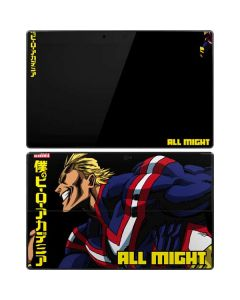 All Might Ready for Battle Surface Pro Tablet Skin
