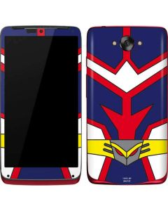 All Might Suit Motorola Droid Skin